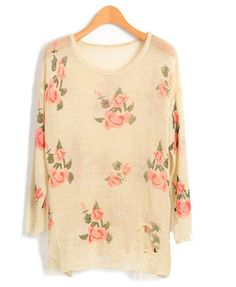 Floral print jumper. Not really sure why I love floral so much but I do!