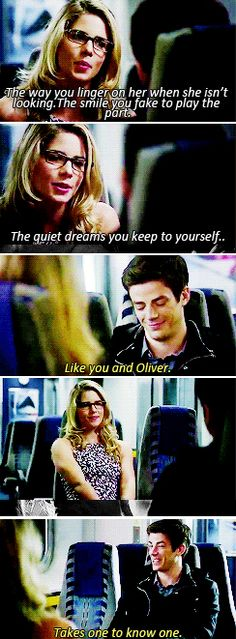 Arrow/The Flash - Felicity Smoak & Barry Allen