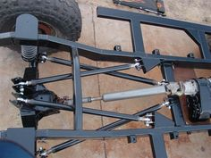 4 link suspension off road Jeep Mods, Truck Mods, Accessoires 4x4, Kart Cross, Hors Route, Trophy Truck, Suspension Design, Cantilever Suspension, Off Road Suspension