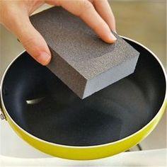 1 Pc Magic Sponge Eraser Multi -Functional Melamine Cleaner Kitchen Cleaning Tools Nano Sponge Coffe