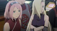 Sakura y Ino the last Sasuke Uchiha, Anime Naruto, Naruto Shippuden, Boruto, Hinata, Sakura And Sasuke, Sakura Haruno, Konoha Village, Naruto Team 7