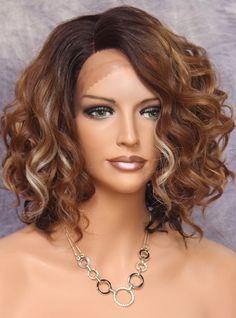 Karen Lace Front Short Curly Heat Safe wig