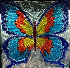 Hey, I found this really awesome Etsy listing at https://www.etsy.com/listing/245572162/10-x-10-butterfly-sun-catcher-superfly