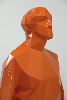 Low Polygon Sculptures by Xavier Veilhan   Inspiration Grid   Design Inspiration join us http://pinterest.com/koztar/