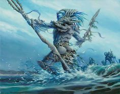 images of merfolk | master of the pearl trident art by ryan pancoast