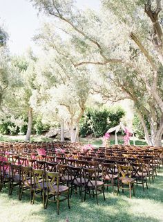 via Style Me Pretty by Jose Villa Photography Outdoor Ceremony, Wedding Ceremony, Summer Wedding, Wedding Day, Signature Cocktail, Wedding Images, Rustic Design, Flower Pots, Potted Flowers