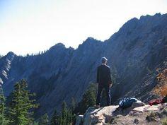 Kendall Katwalk. Roundtrip: 11 Miles. Elevation Gain: 2700 Ft. Highest Point 5400 Ft.