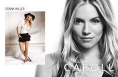 Sienna Miller for Caroll