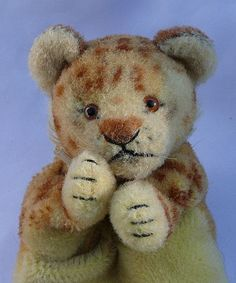 Vintage Steiff Lion Cub Puppet  Made in USZone