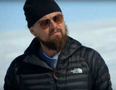 The North Face jacket Leonardo DiCaprio in Before the Flood (2016)