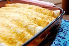 Crazy easy: Creamy chicken enchiladas