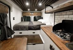 Native Campervans just introduced a new campervan called The Biggie! It's a 2016 ProMaster built out camper van for two with a queen-sized bed, full kitchen, fridge and big gear storage nook.…