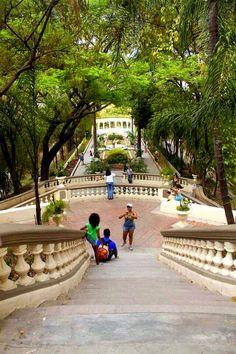 Escalinatas del Calvario. Caracas.