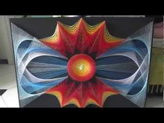 ▶ string art by Aline Campbell - Sol e Mar - YouTube