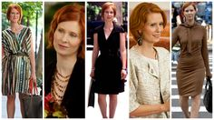 Famous folks & their totes: The fabulous four from Sex and the City Charlotte York, Fabulous Four, Casual Work Attire, Samantha Jones, Office Chic, Carrie Bradshaw, Fashion Editor, Boss Lady, Work Wear