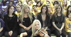 "Celtic Women Join Children's Chorus For Spine-Tingling Version Of ""You Raise Me Up"" via LittleThings.com"
