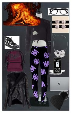 """""""OC Delilah"""" by falck37895 ❤ liked on Polyvore featuring art"""