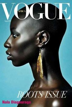 Nala Diagouraga for Vogue Africa. #PrettyPeriod #PrettyHair