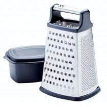 Kitchenaid Boxed Grater With Covered Container Black