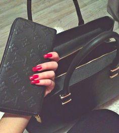 All black LV
