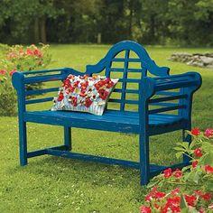 Lutyens Wooden Outdoor Bench