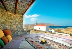 Yoga Platform and Relaxation Gazebo with sea view, Mykonos