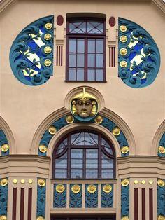 art nouveau architecture - Google Search | Domiciles ...