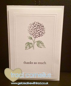 Best of Flowers Card by Independent Stampin Up Demonstrator Traci Cornelius  www.getcreativewithtraci.co.uk