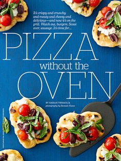 Great Grilled Pizza Recipes | http://www.rachaelraymag.com/food-how-to/cooking-tips/grilled-pizza-recipes/