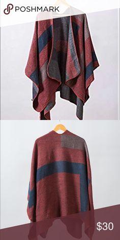 65b87a09066d2 BB Dekota pancho Brand new never worn BB Dakota Sweaters Shrugs & Ponchos  Bb, Shrug