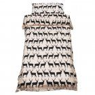 Anorak Kissing Stags Single Duvet Set