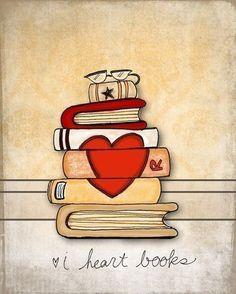 Eu amo livros