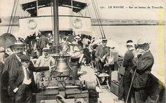 Traversée à bord de l'Augustin Normand