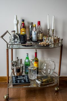 Fall Bar Cart Ideas