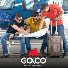 Tú y tus amigos con todo #TheGorillaPower preparando el próximo viaje. #BeGoco