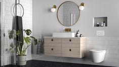 Setesdal - Strai kjøkken Vanity, Mirror, Inspiration, Furniture, Bathrooms, Design, Home Decor, Awesome, Beige