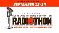3rd annual Cleveland Browns Foundation Radiothon features 28 hours of Browns programming