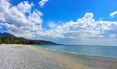 Crystal beaches of The Mani #Stoupa