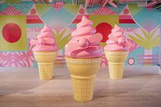 Why You Need to Visit the Museum of Ice Cream Ice Cream Museum, Ice Cram, Spray Foam, Fun Fair, Candyland, Jfk, Chocolate, Exhibit, Sweet