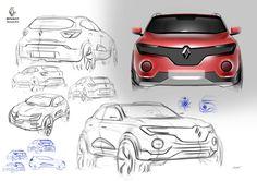 Renault C sedan and small city SUV