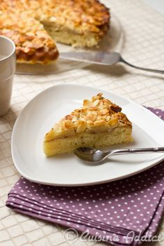 Desserts Français, French Desserts, Gateaux Cake, Fondant, Deserts, Food And Drink, Breakfast, Recipes, Apple