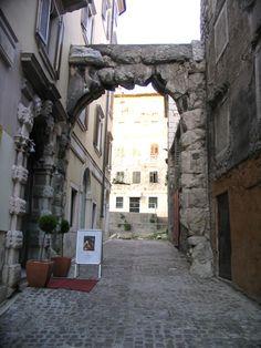 Roman Arch, Rijeka, Croatia