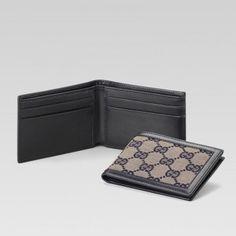 Gucci 233157 F4c7r 4075 Bi-Fold Geldb?rse Gucci Damen Portemonnaie