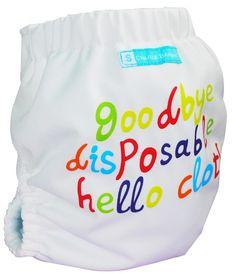 Charlie Banana - Goodbye Disposable Hello Cloth  I WANT this one too!!!