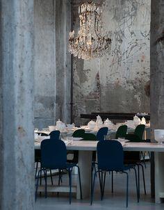Ресторан Carlo e Camilla in Segheria на заброшенной лесопилке в центре Милана | Admagazine | AD Magazine