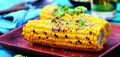 Spicy smoked sweetcorn