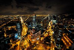 #Bogota nocturna