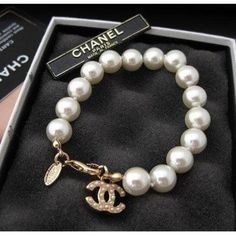 Chanel and pearls, it doesn't get more perfect
