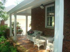 Garden Sheds Georgia custom brick garden shed with porch. terrell county, georgia