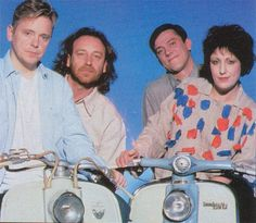 New Order (why the Lambrettas??? haha)